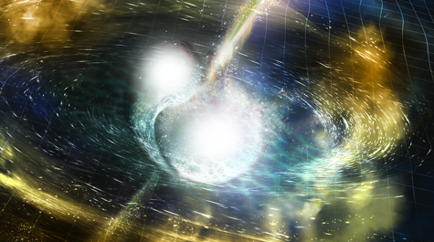 Cosmic collision: