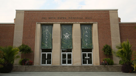 Phi Beta Kappa Memorial Hall: