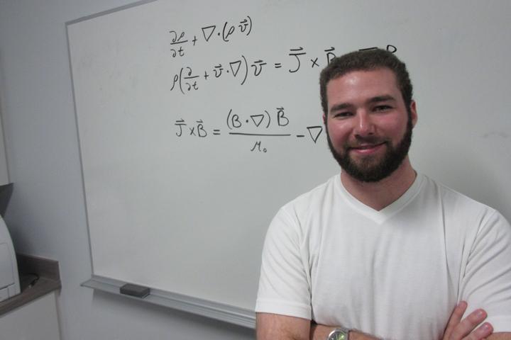 Ryan Chaban: Grad student, 'fusion guy' and award-winning essayist