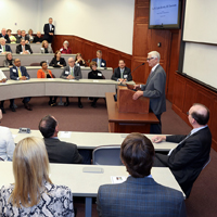 W&M Law School dedicates W. Taylor Reveley III Classroom