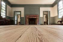 The Apollo Room in the reconstructed Raleigh Tavern (Colonial Williamsburg photo)