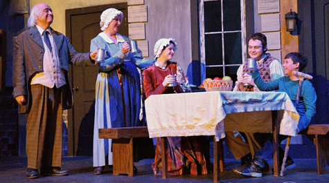 The family Cratchit