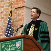 Former FBI Director James B. Comey '82 to co-teach course on ethical leadership
