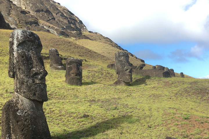 Lake cores may solve mystery of Easter Island civilization