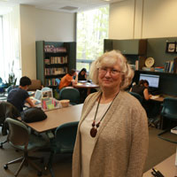Aceto Award honors Zuber's service to students' writing