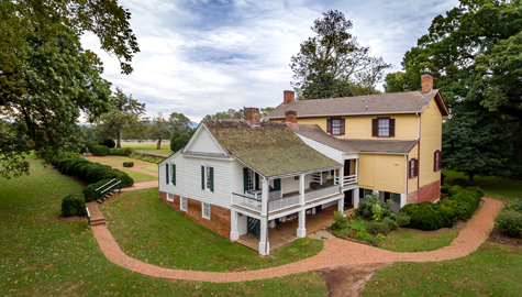 Highland's recent history includes the rediscovery of its lost presidential home and creating connections with individuals whose ancestors were enslaved at Highland. (Photo courtesy of Highland/Gene Runion)