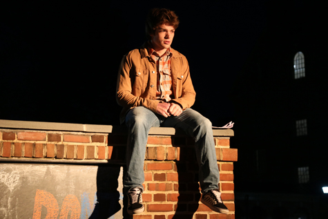Gunnar Frerotte '20 is the lead actor in the short film. (Courtesy photo)