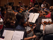 W&M Symphony Orchestra (Photo by Hans Stahl)