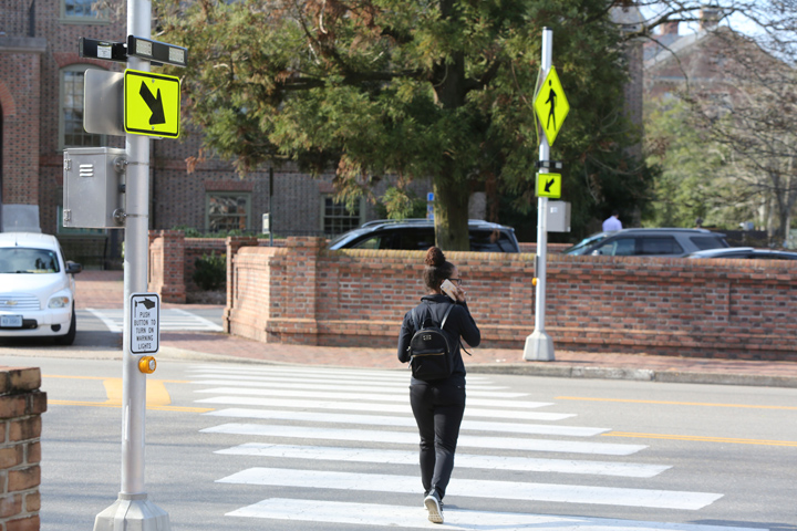 traffic and crosswalk safety image