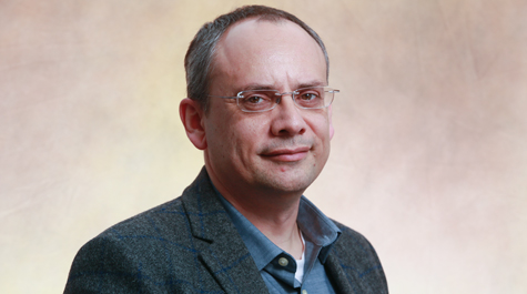 Portrait photograph of Konstantinos Orginos, associate professor in the William & Mary Department of Physics