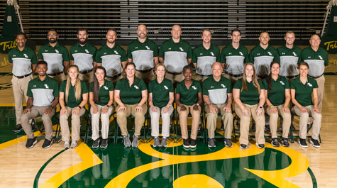 W&M Athletics' high performance and medical team in Kaplan Arena