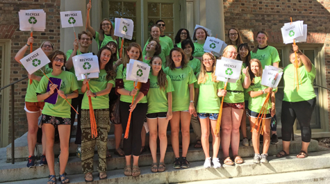 W&M students who volunteer as EcoReps