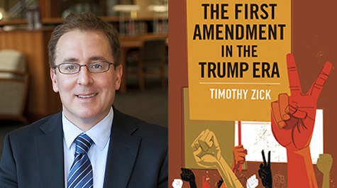 Timothy Zick and the cover of his new book