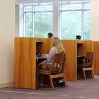 Swem relocates collection to expand study space