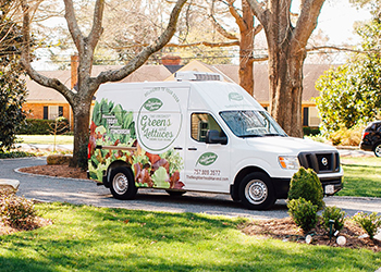 In a time when many companies are shrinking, Neighborhood Harvest has grown from making around 2,600 deliveries a week to almost 5,000. (Courtesy photo)