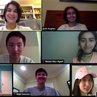 W&M's IGEM team meets over Zoom