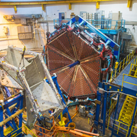 Jefferson Lab's experimental Hall B is full of equipment to study the strong force