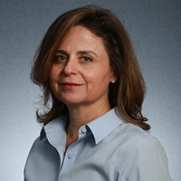 Portrait photograph of Evgenia Smirni, the S. P. Chockley Professor of Computer Science at William & Mary