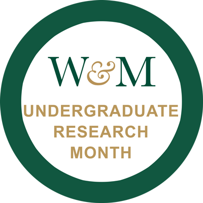 Learn more and follow along with Undergraduate Research Month