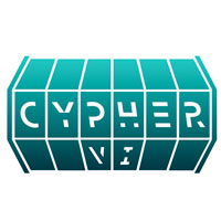 "Logo that reads ""cypher"""