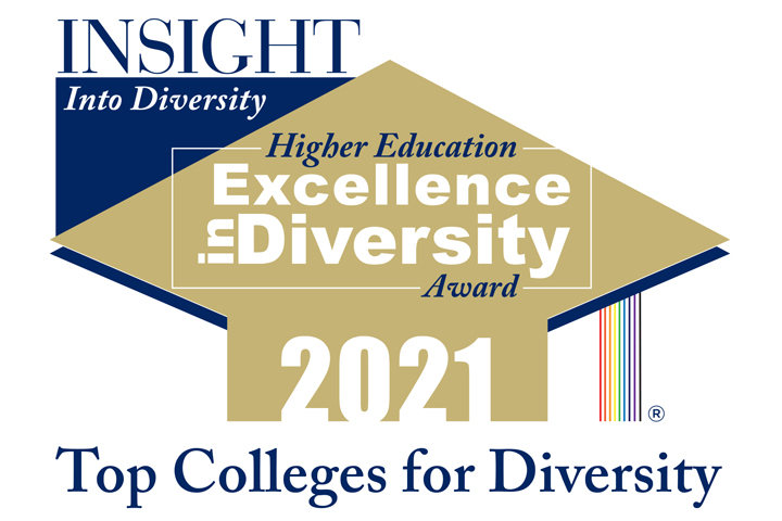 4 years in a row: W&M receives Higher Education Excellence in Diversity Award