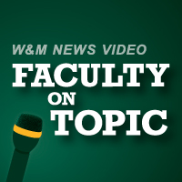 Faculty on topic video feature logo