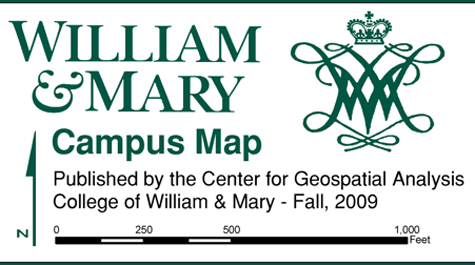 Need To Navigate W M We Ve Got A Map For That William Mary