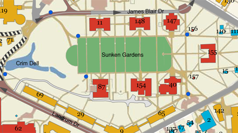 Need to navigate W&M? We've got a map for that | William & Mary