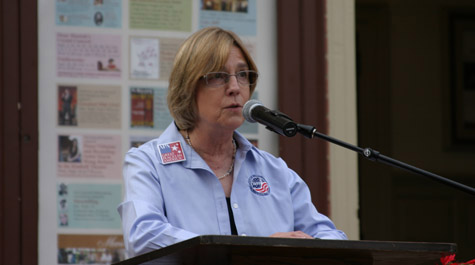 Williamsburg mayor speaks on DoG street