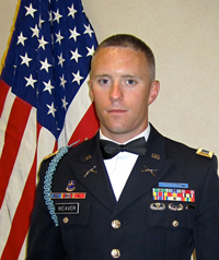 1st Lt. Todd Weaver (Photo courtesy of Kristina Weaver)