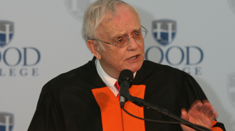 Holmes urges graduates to follow their hearts