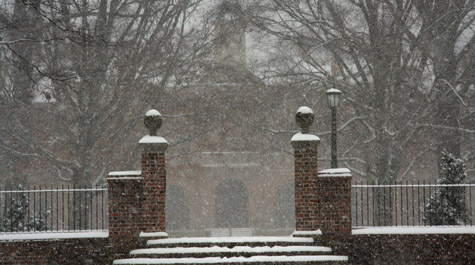 Snow at W&M