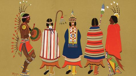 Cultural Traditions Traditional Kiowa Culture