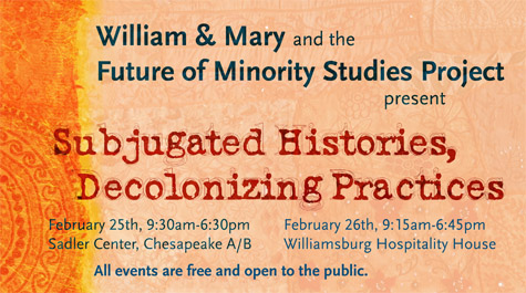 National minority studies colloquium