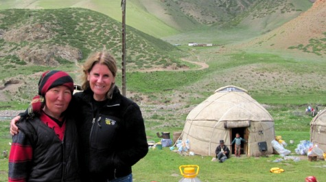Warren in Southern Kyrgystan