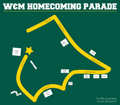 Click for a larger and more detailed parade route map.