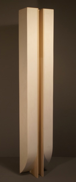 Jayson Lowery, Register V (Blind Core), 2011 Polystyrene foam, fiberglass, resin, and poplar