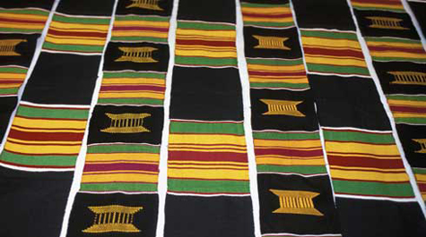 Donning of the Kente