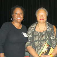 Professors Jody Allen and Joanne Braxton