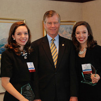 Stacey and Khaki LaRiviere with Gov. McDonnell
