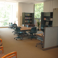 The move to Swem Library in 2009 gives the WRC a warm, inviting atmosphere.