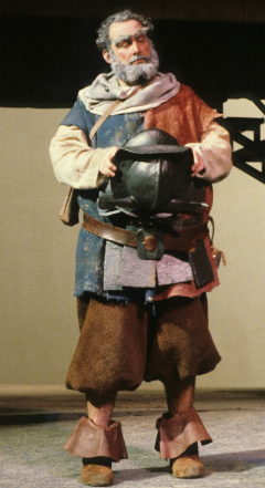 Palmer portrays Falstaff in a 1981 W&M Theatre production of Shakespeare's ''The Merry Wives of Windsor.''