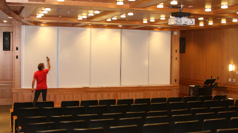 New lecture theater