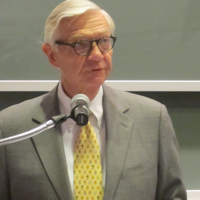 W&M President Taylor Reveley addressed conference attendees