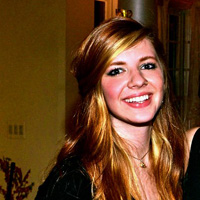 Katie Sharp '14 is one of five student authors for ''Behind the Bricks.''