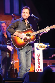 Chip Esten made his debut at Nashville's Grand Ole Opry in November of 2012. (Photo by Chris Hollo)