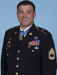 Sgt. 1st Class Leroy Petry. Photo courtesy of 75th Ranger Regiment Public Affairs.