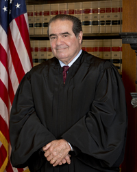 Justice Antonin Scalia. Photo courtesy of The Collection of the Supreme Court of the United States.