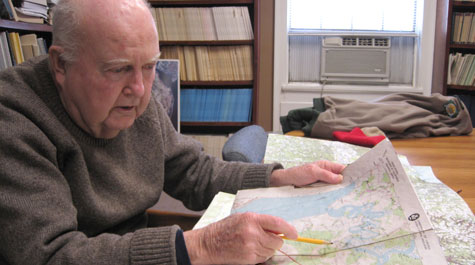 Mapping out the flight