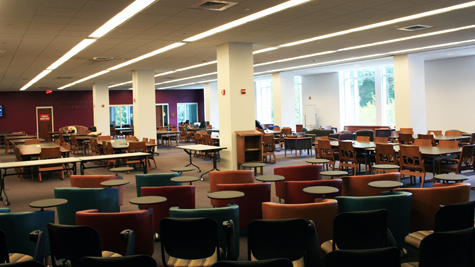 Margaret Baxter Vaughan Read and Relax area